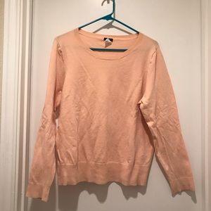 J.Crew Peachy Pink Tippi Sweater size XL